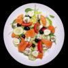 Салат з лососем та фетою